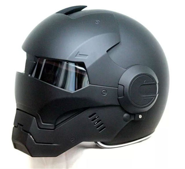 casque scooter iron man
