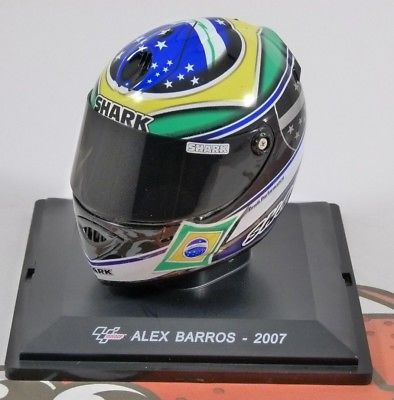 casque shark alex barros