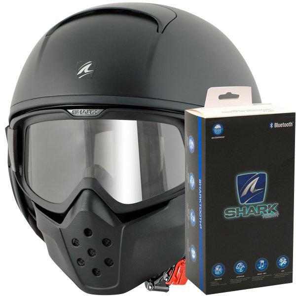 Casque Shark Bluetooth Les Casques De Moto