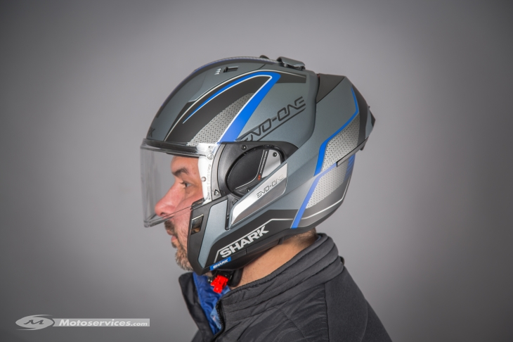 casque shark modulable evo one