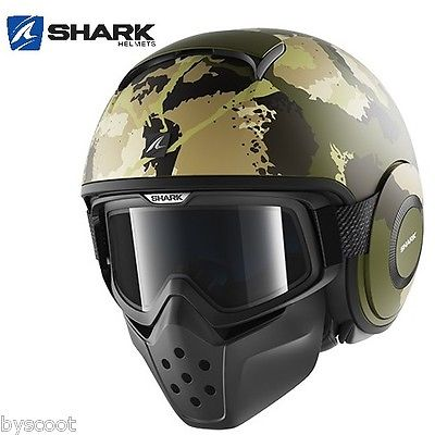 casque shark raw kurtz