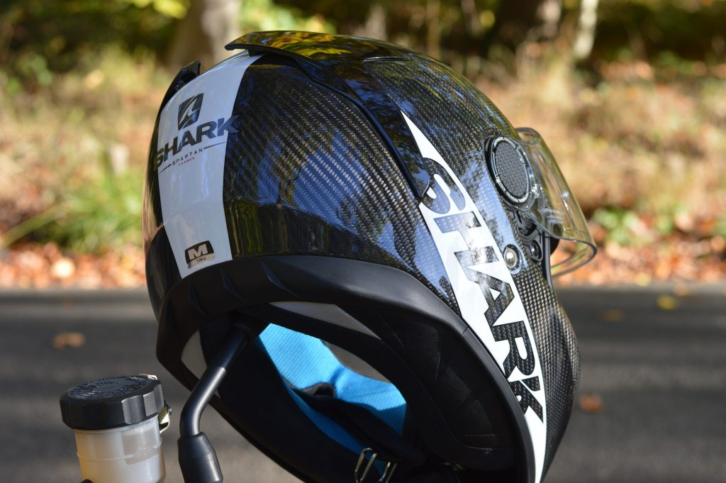 casque shark spartan carbon