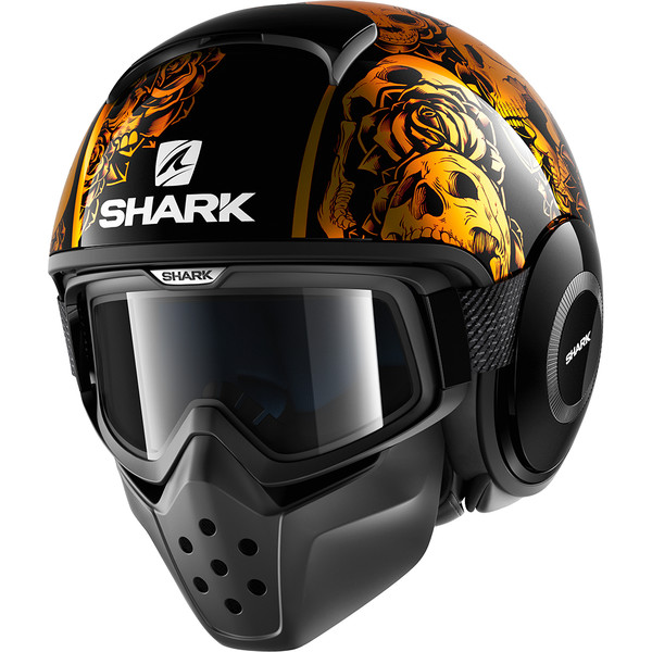 Casque Shark Tete De Mort Les Casques De Moto