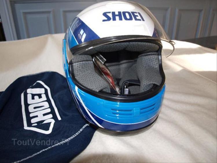 casque shoei 1990