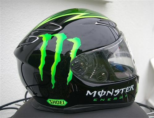 casque shoei monster