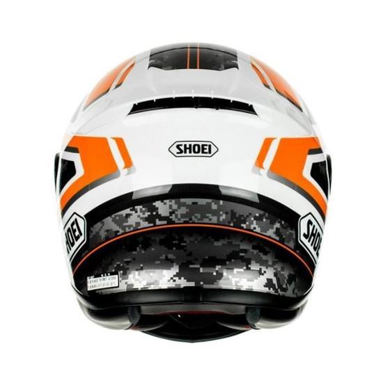 Casque Shoei Nxr Flagger Tc 5 Noir Blanc Les Casques De Moto